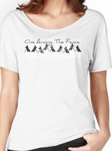 One Among The Fence 4 Women's Relaxed Fit T-Shirt