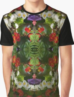 Flowers reflection by four Graphic T-Shirt