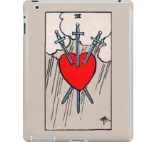 Three of Swords Tarot Card  iPad Case/Skin