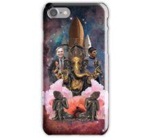 Spock, Sagan, Ganesh, and Buddha Walk Into A Bar.... iPhone Case/Skin
