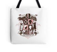 Grantham coat of arms (pink) Tote Bag