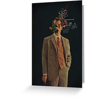 The Energy Vibrations Of Atoms Greeting Card