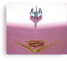Pink Cadillac Bling Canvas Print