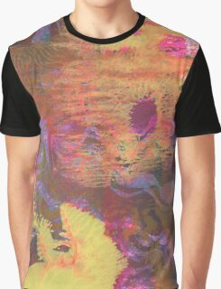 Hot Liquid Sea Abstract by Laura L. Leatherwood Graphic T-Shirt