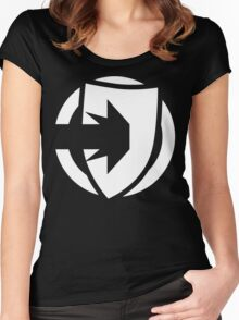 Fate Core: Defend Women's Fitted Scoop T-Shirt