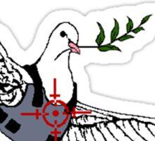 Bullet-Proof Pidgeon Sticker