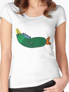 A Sea Unicorn Women's Fitted Scoop T-Shirt