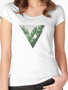 Pattern Women's Fitted Scoop T-Shirt