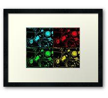 Pop Art Helicrysum Framed Print