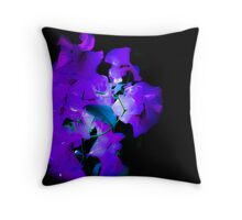 Black Light Beauties Throw Pillow