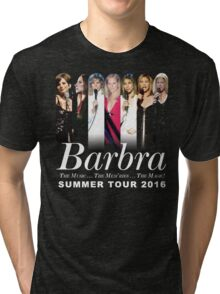 Barbra Streisand TOUR 2016 HARTA3 Tri-blend T-Shirt