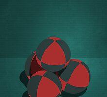 Minimal Juggling Props - Balls by Sam Mann