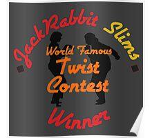 JackRabbit Slims Twist Contest Winner - Iphone / Ipod / Print / Shirt Poster
