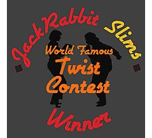 JackRabbit Slims Twist Contest Winner - Iphone / Ipod / Print / Shirt Photographic Print