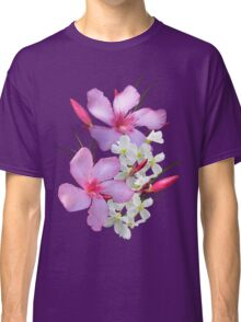 Flowers pink and white Classic T-Shirt