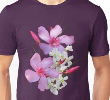 Flowers pink and white Unisex T-Shirt
