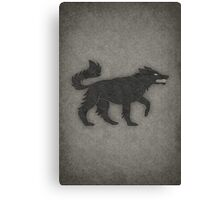 House Stark Minimalist Canvas Print