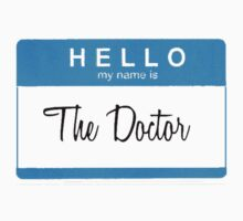 Hello My Name is the Doctor by aimeedraper