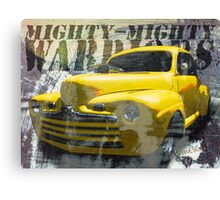 Hot Rodding and the Time Travel Paradox Canvas Print
