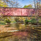Rob Roy Covered Bridge by Kenneth Keifer