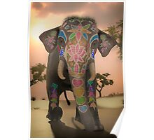 Indian Elephant 4 Poster