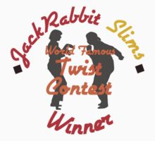 JackRabbit Slims Twist Contest Winner - Iphone / Ipod / Print / Shirt T-Shirt