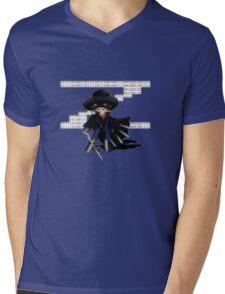 16 Bit Zorro Mens V-Neck T-Shirt