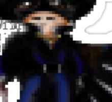 16 Bit Zorro Sticker