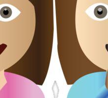 Gamma Phi Beta Emoji Sticker