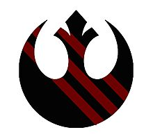 Rebel Alliance Emblem Photographic Print