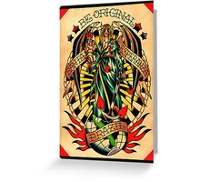 Santa Esperanza Tatuaria 02 Greeting Card