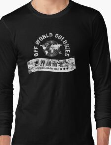 Blade Runner Off World Colonies Long Sleeve T-Shirt
