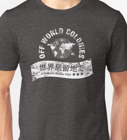 Blade Runner Off World Colonies Unisex T-Shirt