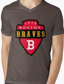 Boston Braves Mens V-Neck T-Shirt