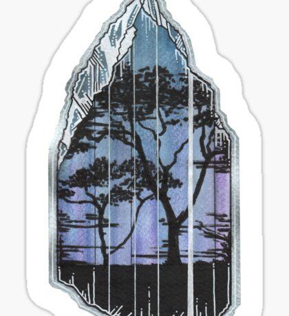 Tanzanite. Sticker