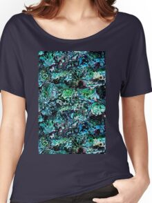 Turquoise Garden of Glass Women's Relaxed Fit T-Shirt
