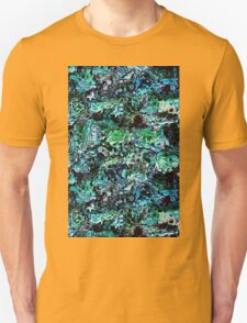 Turquoise Garden of Glass Unisex T-Shirt
