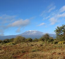 Mount Kilimanjaro by Kirk Arts