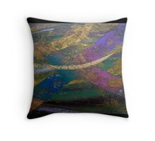 Abstract Eight Throw Pillow