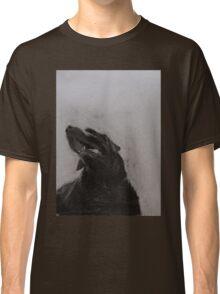 Black and white drawing, Labrador Retriever Classic T-Shirt
