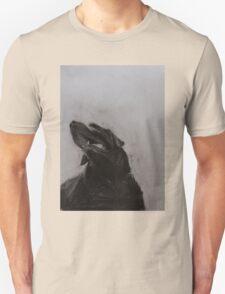 Black and white drawing, Labrador Retriever Unisex T-Shirt