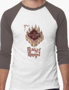 Marauders' Map Men's Baseball ¾ T-Shirt