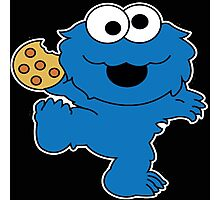 Cookie Monster Baby Photographic Print