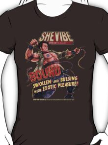 SheVibe Presents Bound a Tantus & Vibeology Collaboration T-Shirt