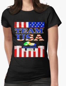 Team USA Rio 2016 Olympics Womens Fitted T-Shirt