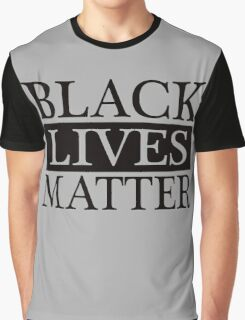 Black Lives Matter (Black) Graphic T-Shirt