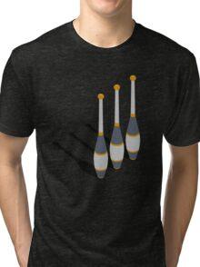 Minimal Juggling Props Clubs - Tshirt Tri-blend T-Shirt