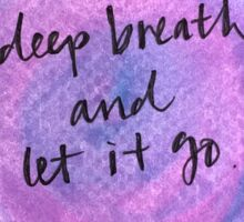 Deep Breath Sticker