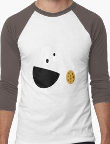 Elmo Cookie Men's Baseball ¾ T-Shirt