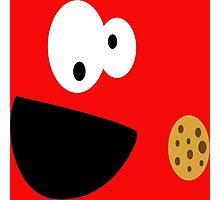 Elmo Cookie Photographic Print